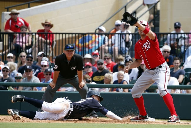 Washington Nationals vs. Detroit Tigers - 5/9/16 MLB Pick, Odds, and Prediction