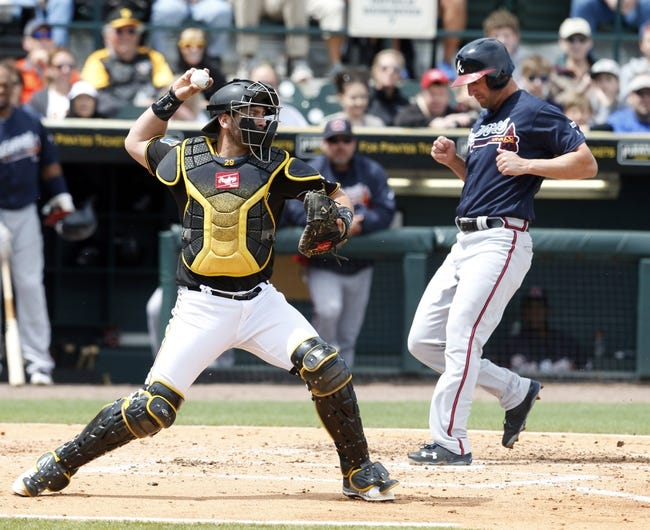 Pittsburgh Pirates vs. Atlanta Braves - 5/17/16 MLB Pick, Odds, and Prediction