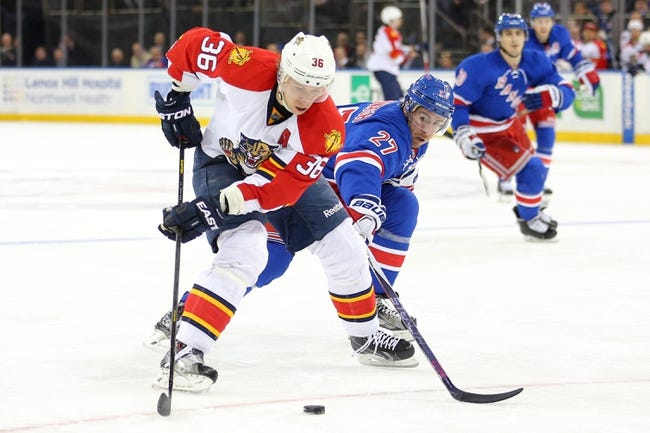 New York Rangers vs. Florida Panthers - 11/20/16 NHL Pick, Odds, and Prediction