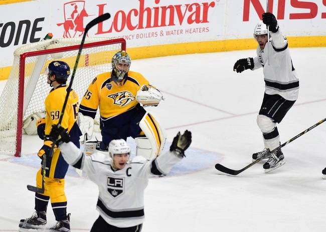 Los Angeles Kings vs. Nashville Predators - 10/27/16 NHL Pick, Odds, and Prediction