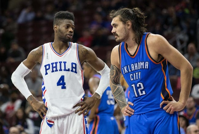 Oklahoma City Thunder at Philadelphia 76ers - 10/26/16 NBA Pick, Odds, and Prediction