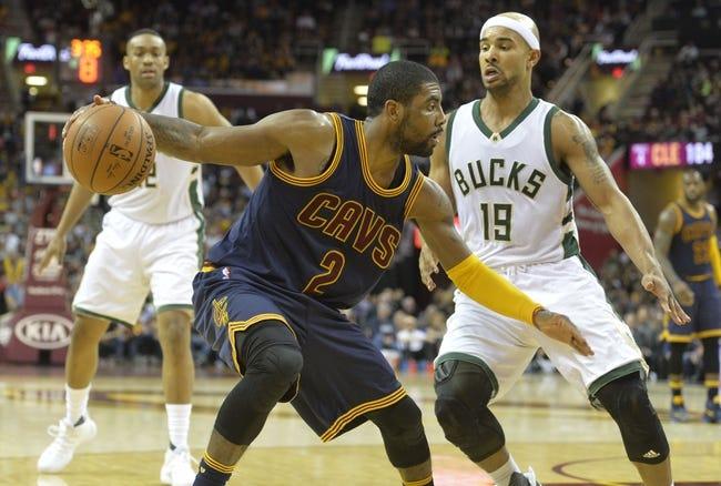 Bucks vs. Cavaliers - 4/5/16 NBA Pick, Odds, and Prediction