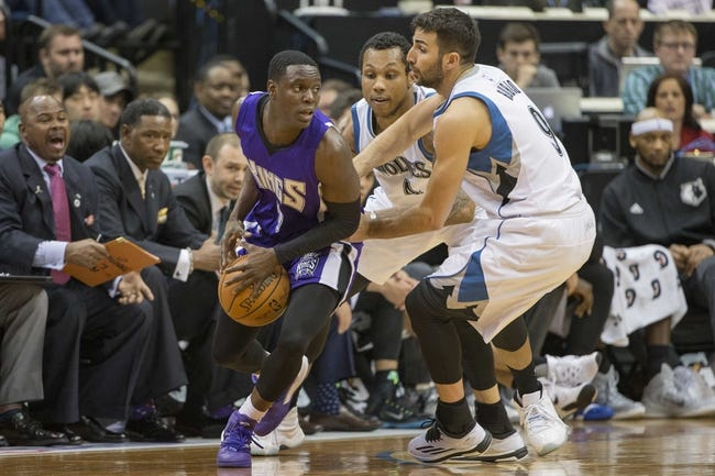 Kings vs. Timberwolves - 4/7/16 NBA Pick, Odds, and Prediction