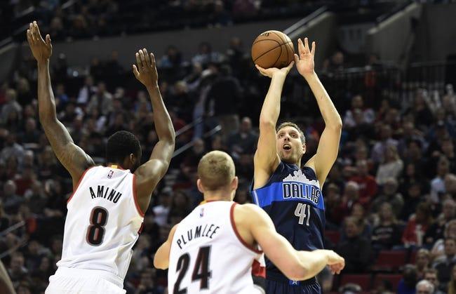 Portland Trailblazers vs. Denver Nuggets - 10/16/16 NBA Preseason Pick, Odds, and Prediction