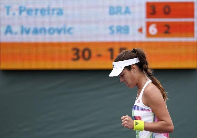 Ana Ivanovic vs. Elina Svitolina 2016 French Open Pick, Odds, Prediction