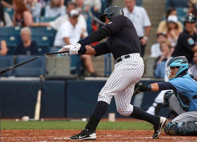 New York Yankees vs. Tampa Bay Rays - 4/22/16 MLB Pick, Odds, and Prediction