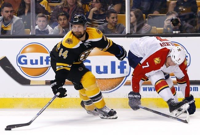 Florida Panthers vs. Boston Bruins - 11/1/16 NHL Pick, Odds, and Prediction
