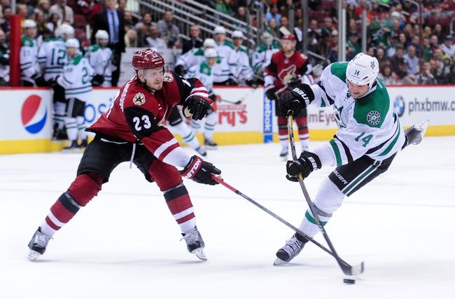 Stars vs. Coyotes - 3/31/16 NHL Pick, Odds, and Prediction