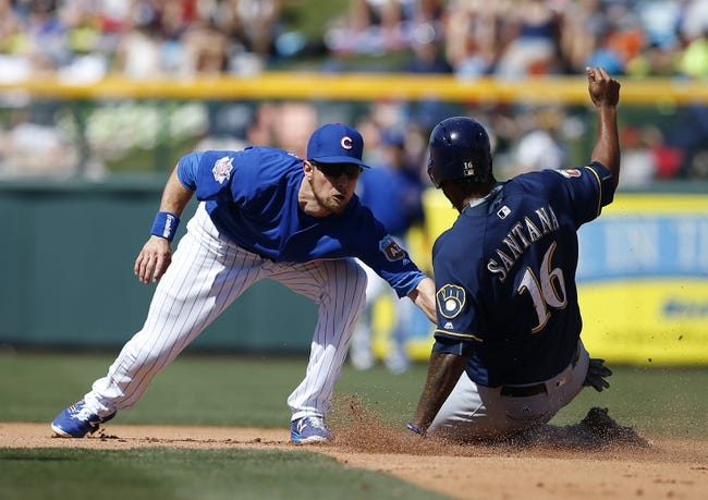 Chicago Cubs vs. Milwaukee Brewers - 4/28/16 MLB Pick, Odds, and Prediction