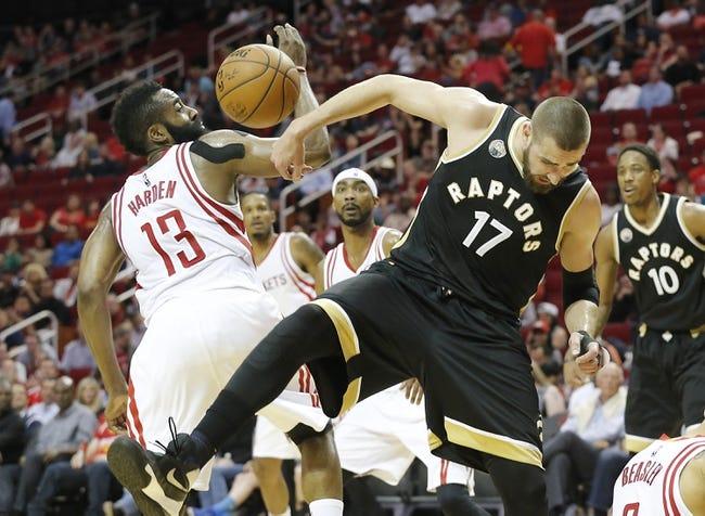 Houston Rockets vs. Toronto Raptors - 11/23/16 NBA Pick, Odds, and Prediction