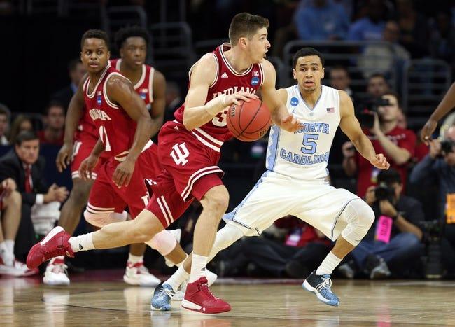 Indiana vs. North Carolina - 11/30/16 College Basketball Pick, Odds, and Prediction