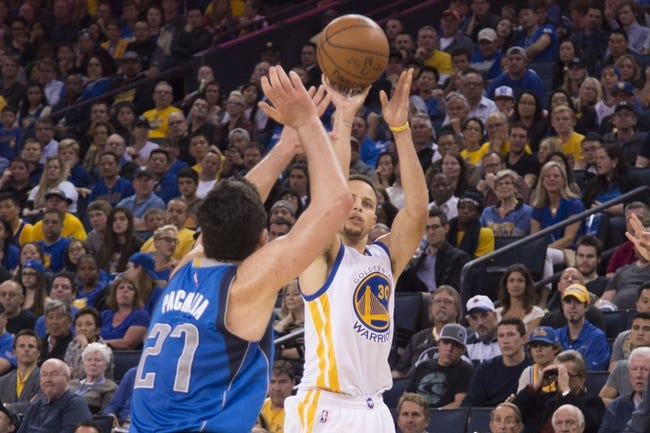 Golden State Warriors vs. Dallas Mavericks - 11/9/16 NBA Pick, Odds, and Prediction