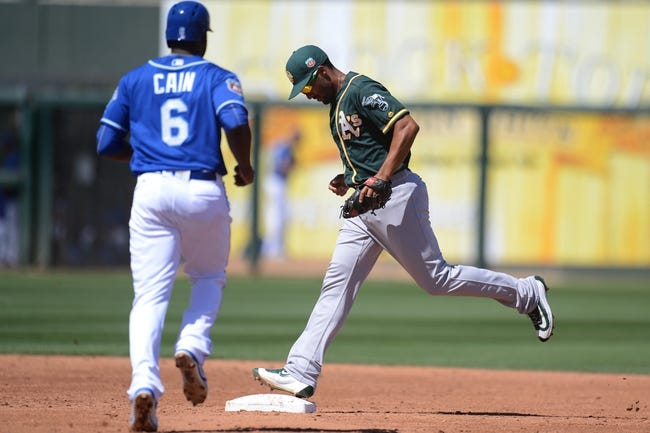 Oakland Athletics vs. Kansas City Royals - 4/15/16 MLB Pick, Odds, and Prediction