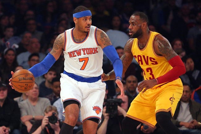 New York Knicks at Cleveland Cavaliers - 10/25/16 NBA Pick, Odds, and Prediction