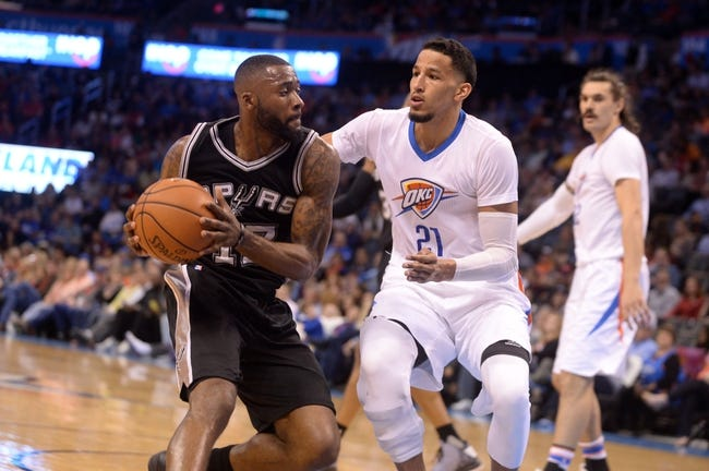 Thunder at Spurs - 4/12/16 NBA Pick, Odds, and Prediction