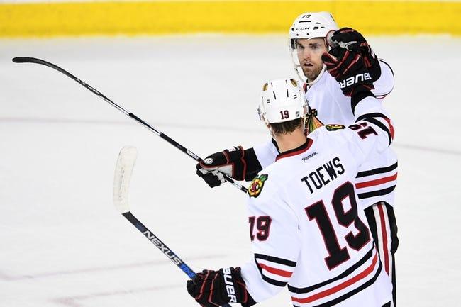 Chicago Blackhawks vs. Calgary Flames - 10/24/16 NHL Pick, Odds, and Prediction