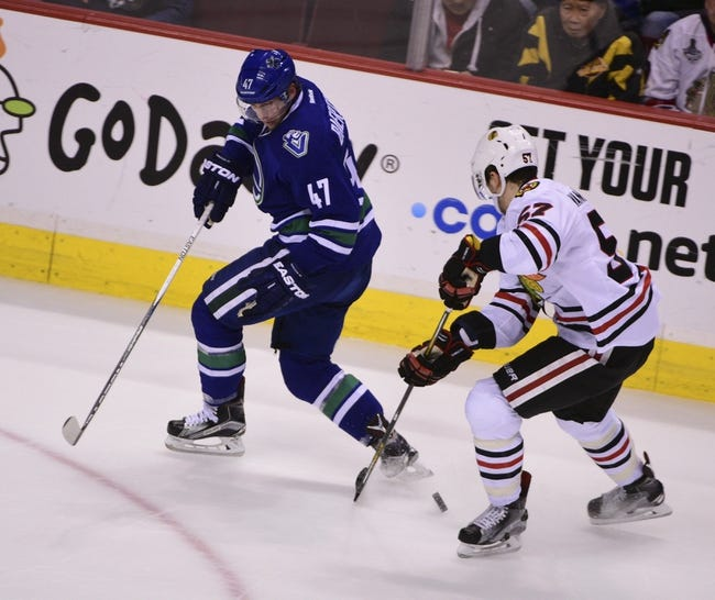 Vancouver Canucks vs. Chicago Blackhawks - 11/19/16 NHL Pick, Odds, and Prediction
