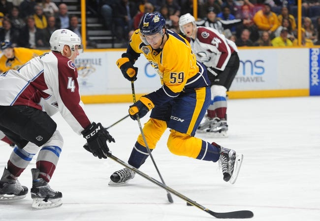 Predators vs. Avalanche - 4/5/16 NHL Pick, Odds, and Prediction