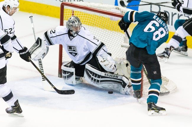 Sharks at Kings - 4/14/16 Game One Pick, Odds, and Prediction