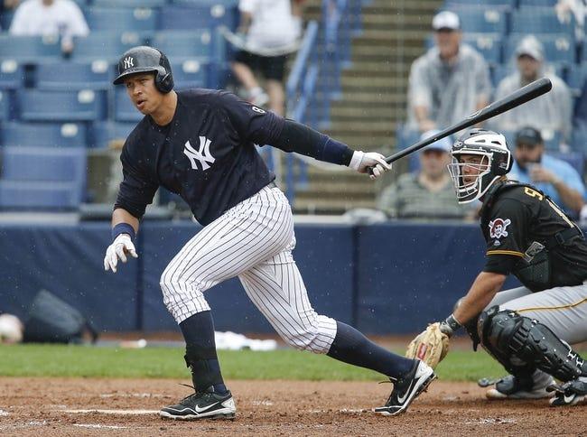New York Yankees vs. Houston Astros - 4/5/16 MLB Pick, Odds, and Prediction
