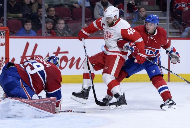 Montreal Canadiens vs. Detroit Red Wings - 11/12/16 NHL Pick, Odds, and Prediction