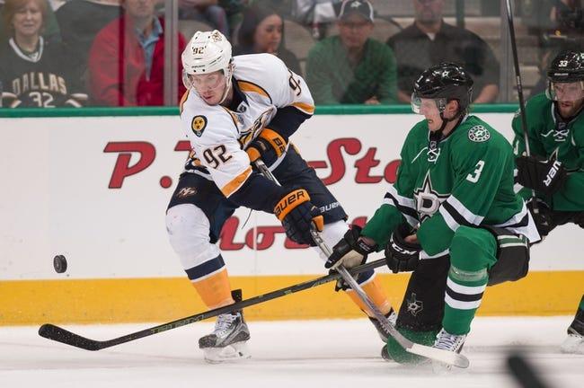 Nashville Predators vs. Dallas Stars - 10/18/16 NHL Pick, Odds, and Prediction