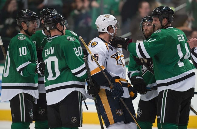 Stars vs. Predators - 4/9/16 NHL Pick, Odds, and Prediction