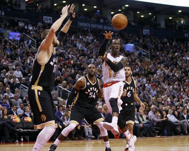 Hawks vs. Raptors - 4/7/16 NBA Pick, Odds, and Prediction