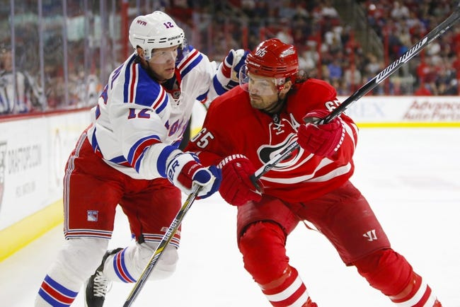 Carolina Hurricanes vs. New York Rangers - 10/28/16 NHL Pick, Odds, and Prediction