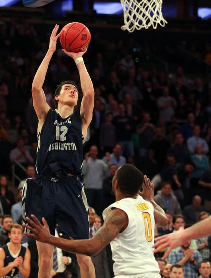 George Washington Colonials vs. Siena Saints - 11/15/16 College Basketball Pick, Odds, and Prediction