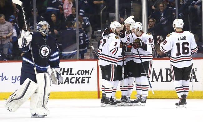 Winnipeg Jets vs. Chicago Blackhawks - 11/15/16 NHL Pick, Odds, and Prediction