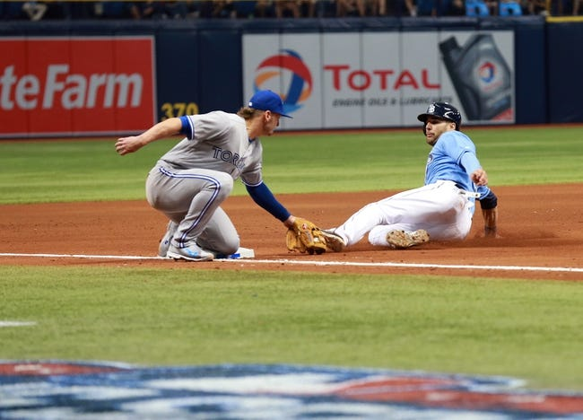 Tampa Bay Rays vs. Toronto Blue Jays - 4/4/16 MLB Pick, Odds, and Prediction