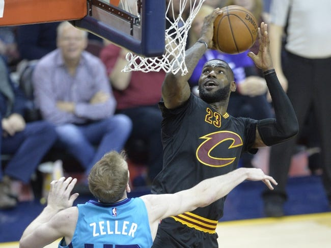 Cleveland Cavaliers vs. Charlotte Hornets - 11/13/16 NBA Pick, Odds, and Prediction