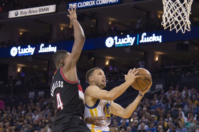 Trail Blazers at Warriors Game 1 - 5/1/16 NBA Pick, Odds, and Prediction