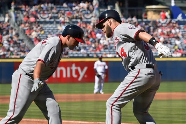 Atlanta Braves vs. Washington Nationals - 4/6/16 MLB Pick, Odds, and Prediction