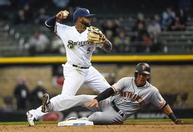 Brewers vs. Giants - 4/5/16 MLB Pick, Odds, and Prediction
