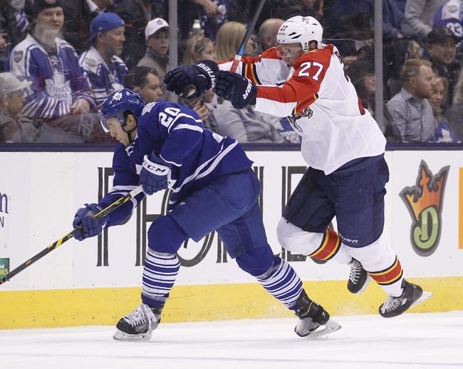 Toronto Maple Leafs vs. Florida Panthers - 10/27/16 NHL Pick, Odds, and Prediction