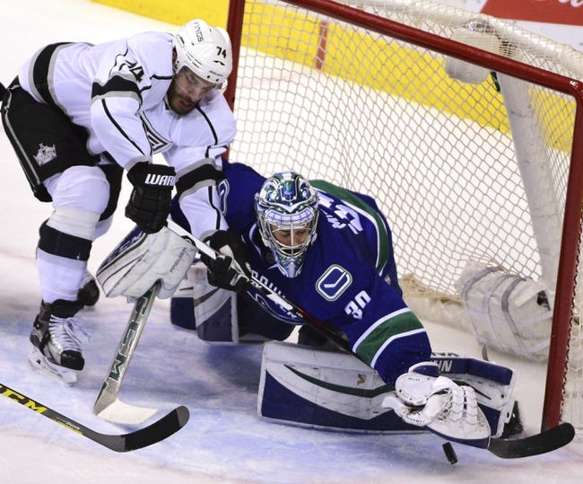 Los Angeles Kings vs. Vancouver Canucks - 10/22/16 NHL Pick, Odds, and Prediction