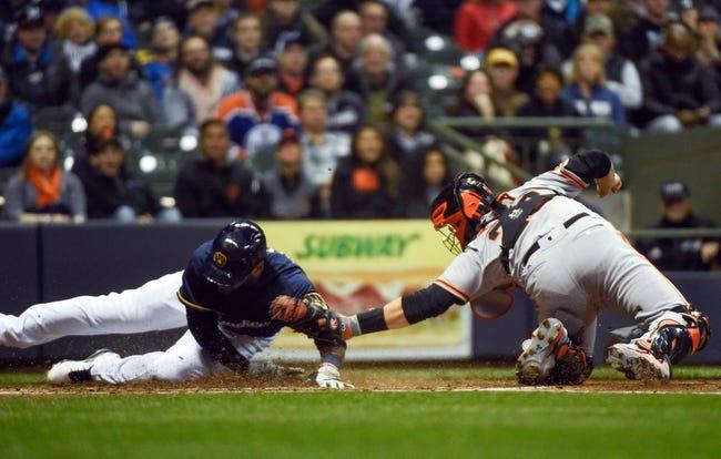 Milwaukee Brewers vs. San Francisco Giants - 4/6/16 MLB Pick, Odds, and Prediction