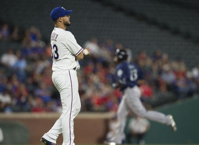 Texas Rangers vs. Seattle Mariners - 4/6/16 MLB Pick, Odds, and Prediction