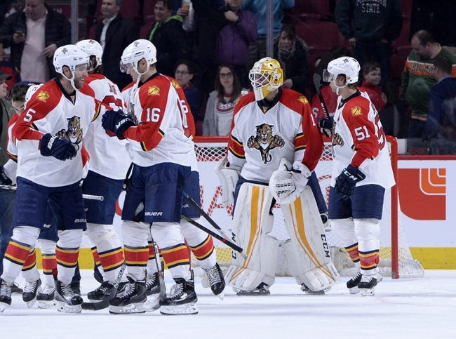 Montreal Canadiens vs. Florida Panthers - 11/15/16 NHL Pick, Odds, and Prediction