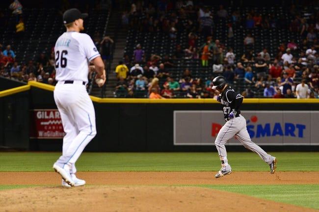 Arizona Diamondbacks vs. Colorado Rockies - 4/6/16 MLB Pick, Odds, and Prediction