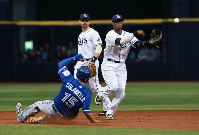 Tampa Bay Rays vs. Toronto Blue Jays - 4/29/16 MLB Pick, Odds, and Prediction