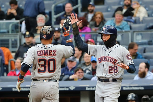 Milwaukee Brewers vs. Houston Astros - 4/8/16 MLB Pick, Odds, and Prediction