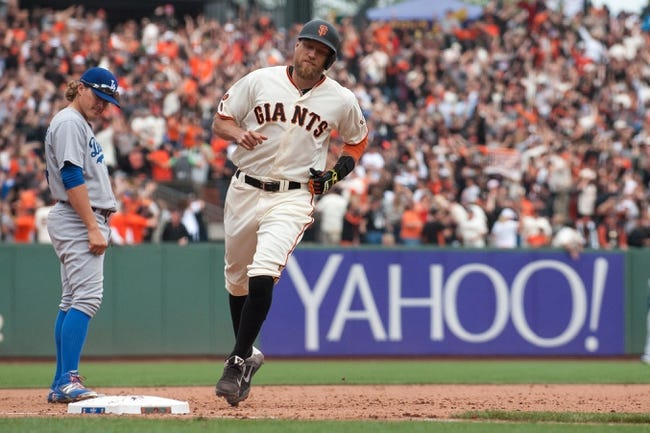 San Francisco Giants vs. Los Angeles Dodgers - 4/8/16 MLB Pick, Odds, and Prediction
