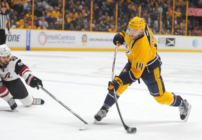 Arizona Coyotes vs. Nashville Predators - 11/3/16 NHL Pick, Odds, and Prediction