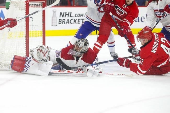 Carolina Hurricanes vs. Montreal Canadiens - 11/18/16 NHL Pick, Odds, and Prediction
