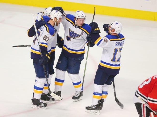 St. Louis Blues vs. Chicago Blackhawks - 4/13/16 NHL Pick, Odds, and Prediction
