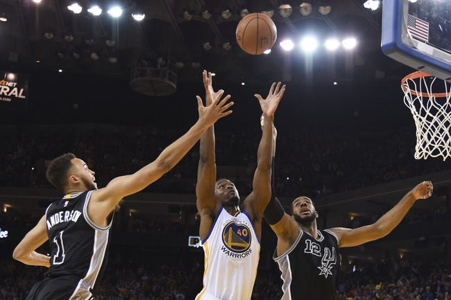 Spurs vs. Warriors - 4/10/16 NBA Pick, Odds, and Prediction