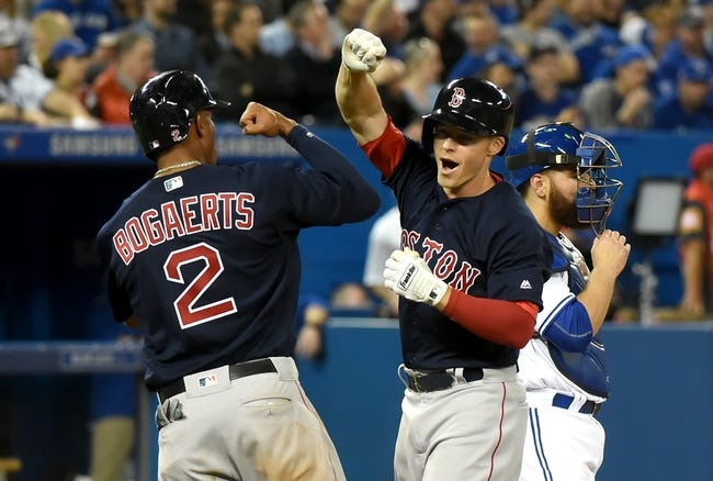 Toronto Blue Jays vs. Boston Red Sox - 4/9/16 MLB Pick, Odds, and Prediction